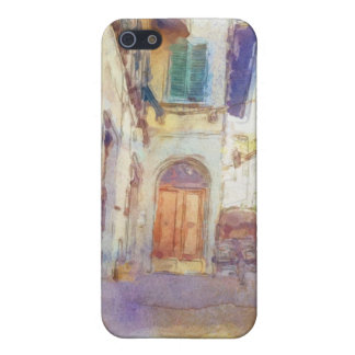 Views of Florence made in artistic watercolor iPhone SE/5/5s Cover