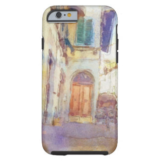 Views of Florence made in artistic watercolor Tough iPhone 6 Case