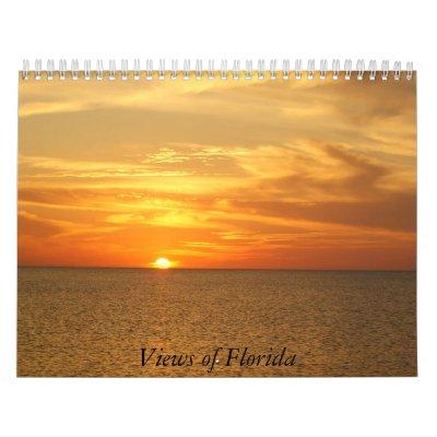 Views of Florida Calendar