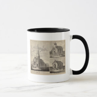 Views of German Catholic Churches in Minnesota Mug