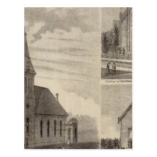 Views of German Catholic Churches in Minnesota Postcard