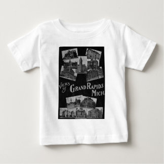Views of Grand Rapids Michigan Vintage Baby T-Shirt