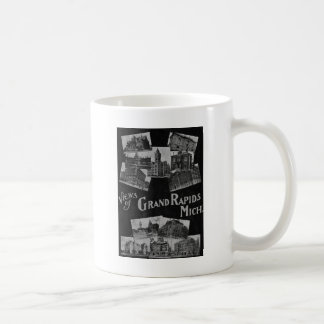Views of Grand Rapids Michigan Vintage Coffee Mug