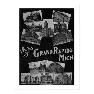 Views of Grand Rapids Michigan Vintage Post Card