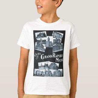 Views of Grand Rapids Michigan Vintage T-Shirt