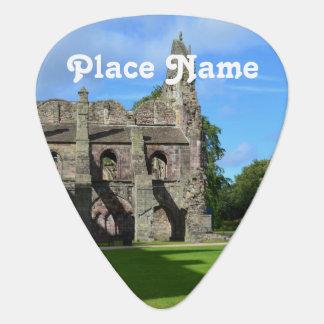 Views of Holyrood Abbey Guitar Pick