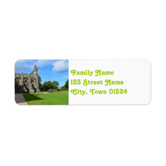 Views of Holyrood Abbey Label