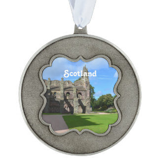 Views of Holyrood Abbey Pewter Ornament