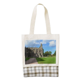 Views of Holyrood Abbey Zazzle HEART Tote Bag