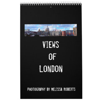 Views of london calendar
