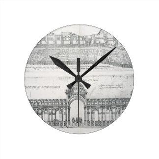 Views of Montargis, from 'Les Plus Belles Batiment Round Clock