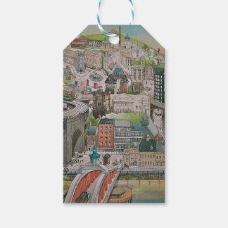 Views of Newcastle upon Tyne Gift Tag