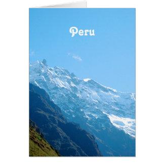 Views of Peru Greeting Cards