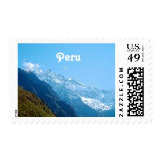 Views of Peru Stamp