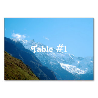 Views of Peru Table Cards