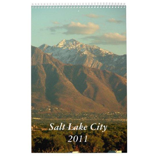Views of Salt Lake City Calendar