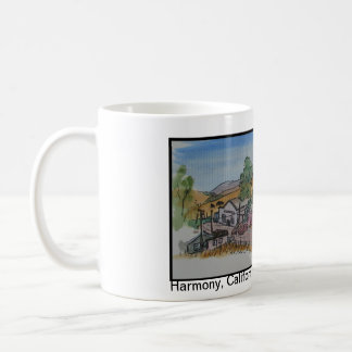 Views of San Luis Obispo, Harmony California Coffee Mug