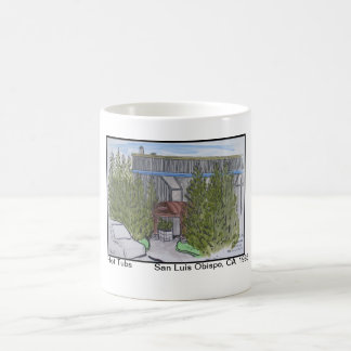 Views of San Luis Obispo, Hot Tubs Coffee Mug