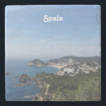 "Views of Spanish Coast Stone Coaster<br><div class=""desc"">Gorgeous views of the Spanish coast.</div>"