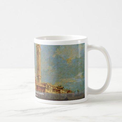 Views Of The Isola Di San Pietro Di Castello Coffee Mug