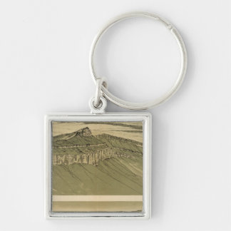 Views of the Marble Canyon Platform Keychain