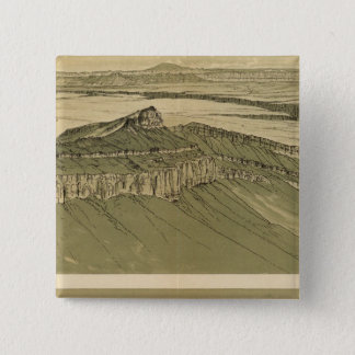 Views of the Marble Canyon Platform Pinback Button