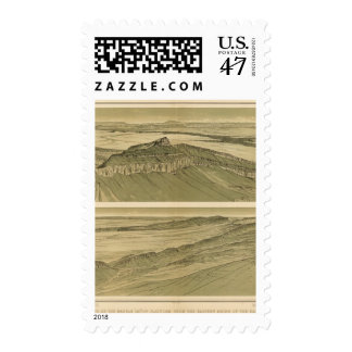 Views of the Marble Canyon Platform Postage Stamp