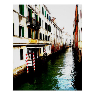 Views of Venice Italy III Poster