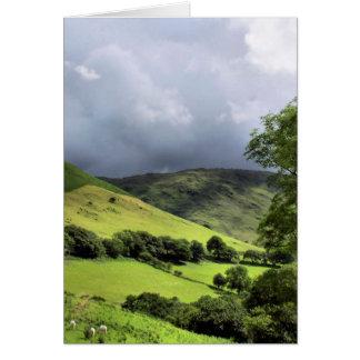 VIEWS OF WALES GREETING CARD