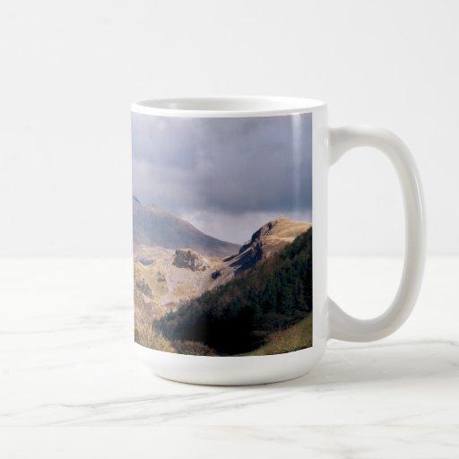 VIEWS OF WALES CLASSIC WHITE COFFEE MUG