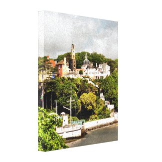 VIEWS OF WALES GALLERY WRAP CANVAS