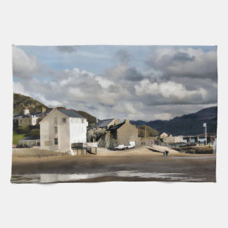 VIEWS OF WALES KITCHEN TOWELS