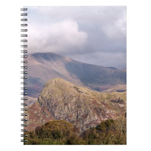 VIEWS OF WALES SPIRAL NOTE BOOK