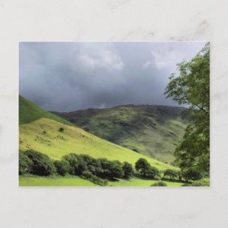 VIEWS OF WALES postcard