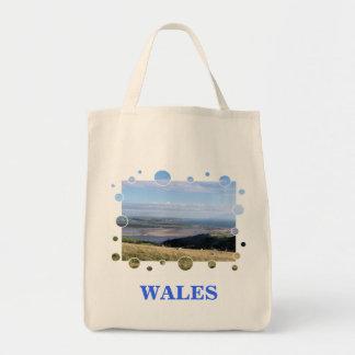 VIEWS OF WALES TOTE BAG