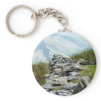 VIEWS OF WALES UK keychain