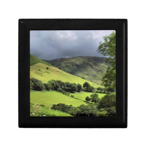 VIEWS OF WALES UK TRINKET BOXES