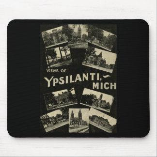 Views of Ypsilanti Michigan - Vintage Mouse Pad