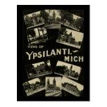 Views of Ypsilanti Michigan - Vintage Postcard