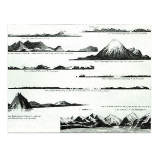 Views on the West Coast of America, c.1778 Postcard