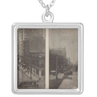 Views wealth, enterprise, Seattle, Wash Silver Plated Necklace