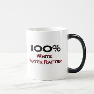 Viga del agua blanca del 100 por ciento taza
