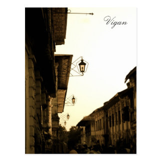 Vigan Lights Postcard