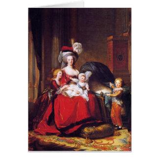 Vigée-Lebrun - Marie Antoinette and her children Card