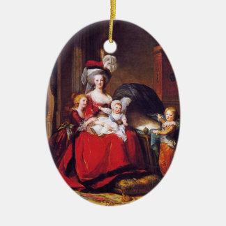 Vigée-Lebrun - Marie Antoinette and her children Ceramic Ornament