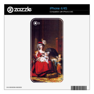 Vigée-Lebrun - Marie Antoinette and her children Decals For The iPhone 4S