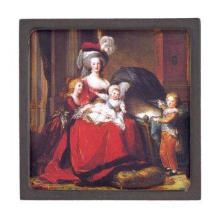 Vigée-Lebrun - Marie Antoinette and her children Jewelry Box