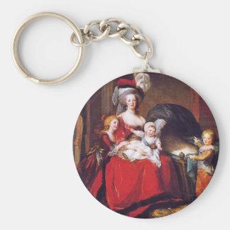 Vigée-Lebrun - Marie Antoinette and her children Keychain