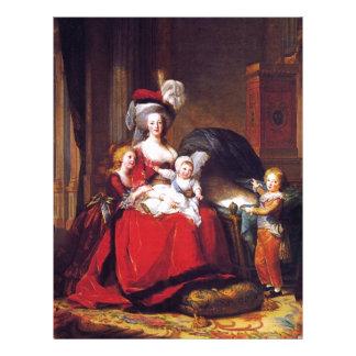 Vigée-Lebrun - Marie Antoinette and her children Letterhead