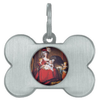 Vigée-Lebrun - Marie Antoinette and her children Pet ID Tag